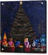 Christmas Toys Acrylic Print
