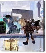 Toy Doll Acrylic Print by Dietrich ralph  Katz