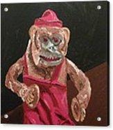 Toy Monkey With Cymbals Acrylic Print