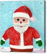 Toy Santa Acrylic Print