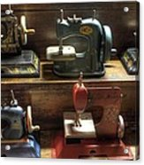 Toy Sewing Machines Acrylic Print