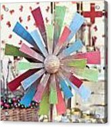 Toy Windmill Acrylic Print