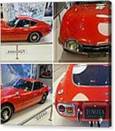 Toyota 2000 Gt Acrylic Print