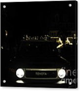 Toyota Fj Holiday Lights Acrylic Print