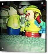 Toys In A Row Acrylic Print