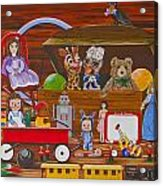 Toys In The Attic Acrylic Print