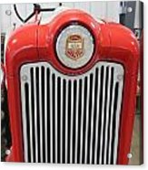 Ford Tractor Grill Acrylic Print