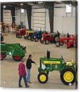 Mecum Tractor Auction Acrylic Print