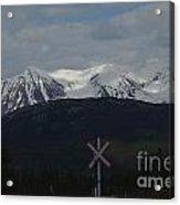 Trackless Wilderness Acrylic Print