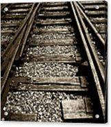 Tracks Into Tracks - 2 Acrylic Print
