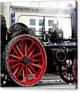 Traction Engine  Acrylic Print