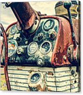 Tractor Dash - Farmall 560 Diesel Acrylic Print