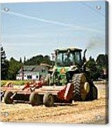 Tractor Power Acrylic Print