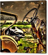 Tractor Seat Acrylic Print