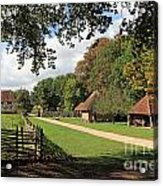 Traditional Countryside Britain Acrylic Print