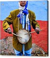Traditional Musician I Acrylic Print