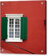 Traditional Red House Acrylic Print