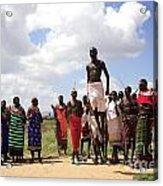 Traditional Samburu Dance Acrylic Print