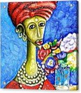 Traditonal Portrait Acrylic Print
