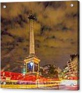 Trafalgar Light Trails Acrylic Print