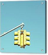 Traffic Light Acrylic Print