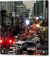 Traffic Acrylic Print