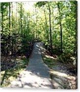 Trail Around Lake Johnson Acrylic Print