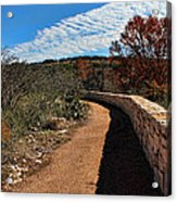 Trail At Reimer's Ranch Acrylic Print