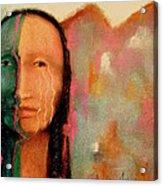 Trail Of Tears Acrylic Print by Johanna Elik