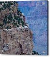 Trail On The Edge Acrylic Print