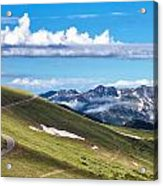 Trail Ridge Road In Rocky Mountain National Park Acrylic Print