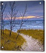 Trail To The Beach Acrylic Print