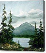 Trail To The Lake Acrylic Print