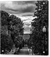 Trail To Town Acrylic Print