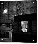 Trailer Home Acrylic Print