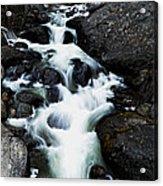 Trailhead Cascades Acrylic Print