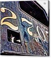 Train 2705 Acrylic Print