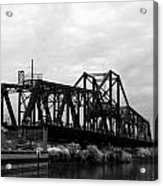 Train Bridge Acrylic Print