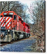 Train - Canadian Pacific Engine 5937 Acrylic Print