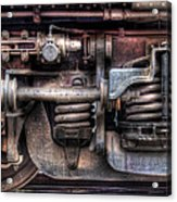 Train - Car - Springs And Things Acrylic Print