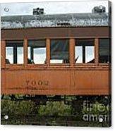 Train Coach Windows Acrylic Print