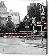 Train Crossing Acrylic Print