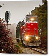 Train Engine Acrylic Print