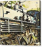 Train Is Coming Two Acrylic Print