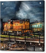 Train - Let's Go For A Spin Acrylic Print