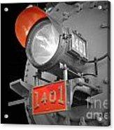 Train Light 1401 Acrylic Print