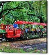 Train - New Orleans City Park Acrylic Print
