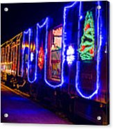 Train Of Lights Acrylic Print
