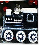 Train Ornament Acrylic Print
