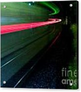 Train Pass By Acrylic Print